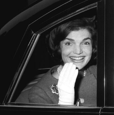 Harry Benson, 'Jackie Kennedy in Car, London', 1962