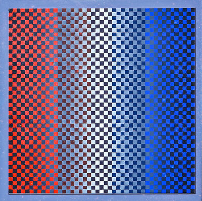 Hugo Demarco, 'Tension rojo bleu', 1979