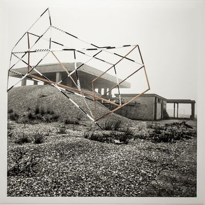 Jane and Louise Wilson, 'Blind Landings (H-bomb Test Site, Orford Ness) #3', 2013