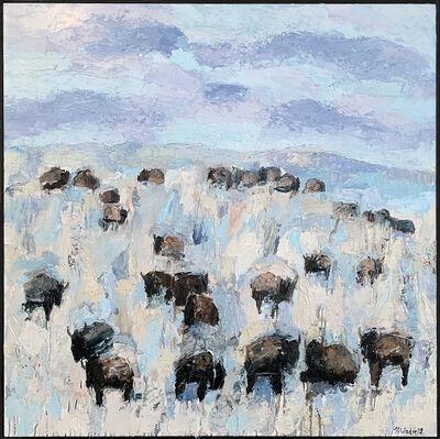 Theo Waddell, 'Ruby Valley Buffalo ', 2020