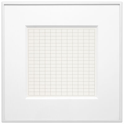 Agnes Martin, 'On a Clear Day #05', 1973