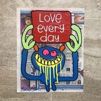 Bortusk Leer, 'Love Every Day', 2019