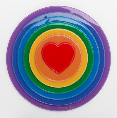 Peter Blake, 'Rainbow Target', 2016