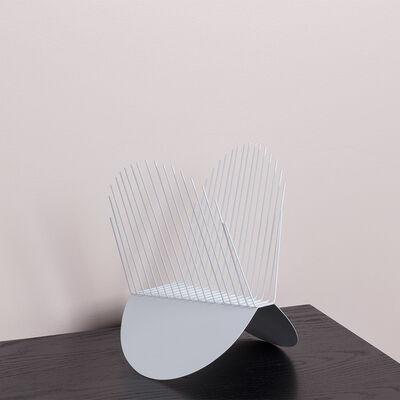 Karl Zahn, 'White Grid', 2017