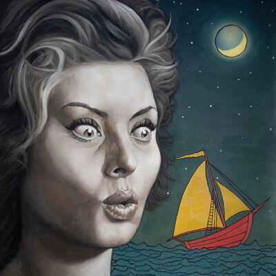 William Nelson, 'Sophia and Max's Boat', 2019