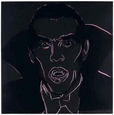 Andy Warhol, 'Dracula, from Myths', 1981