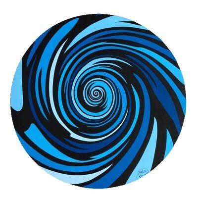 MAR aka Spencer Guilburt, ' Aquatic Spiral Galaxy', 2017