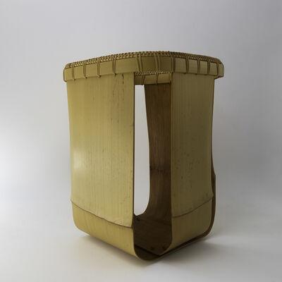 Matsumoto Hafū, 'Noshitake bamboo flower vase', 2016