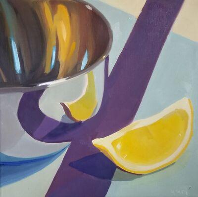 Yuri Tayshete, 'Lemon and Purple Ribbon', 2019