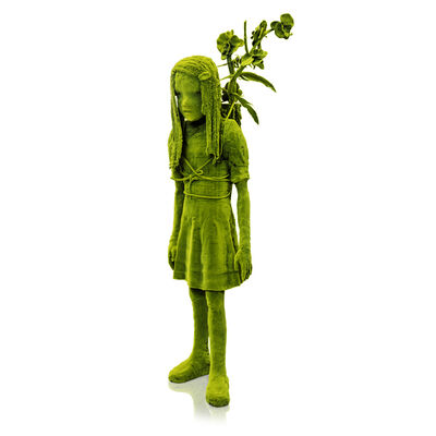 Kim Simonsson, 'Moss Girl with a Branch', 2019