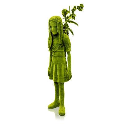 Kim Simonsson, 'Moss Girl with a Branch', 2019