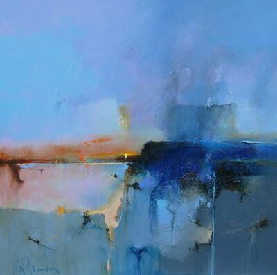 Peter Wileman, 'Blue Drift II', 2018