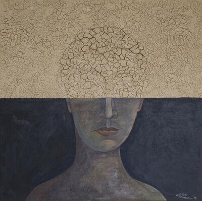 Sliman Mansour, 'Portrait II', 2018