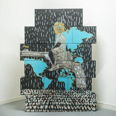 Omar Ba, 'The Rider 1', 2018