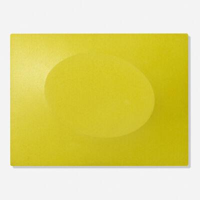 Turi Simeti, 'Un ovale giallo', 2007