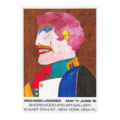 Richard Lindner, ''Profile' 1960s Exhibition Poster', 1969