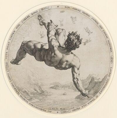 Hendrik Goltzius, 'Phaeton', 1588
