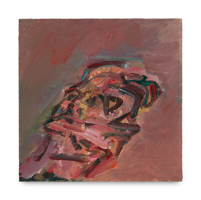 Frank Auerbach, 'Reclining Head of Julia', 2007-2008