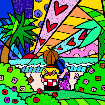 Romero Britto, 'Tomorrow', 2016