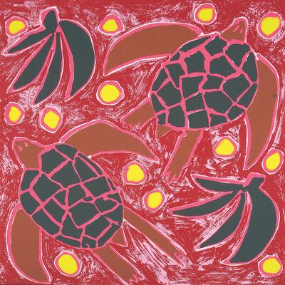 Katherine Bernhardt, 'Sea Turtles', 2015