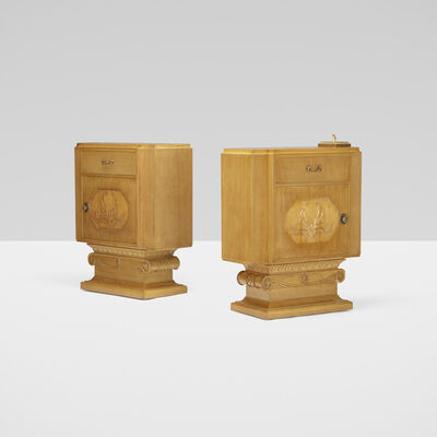 T.H. Robsjohn-Gibbings, 'consoles from Casa Encantada, Bel Air, pair', 1937