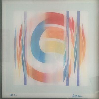 Yaacov Agam, 'Agamograph Curv 2', 1977