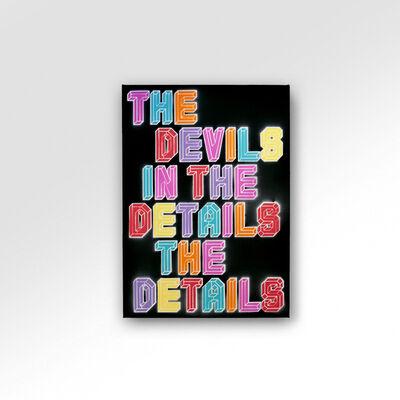 Ben Eine, 'The Devils In The Detail', 2021
