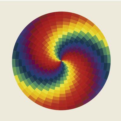 Joël Stein, 'Cercle chromatique 66', 1972