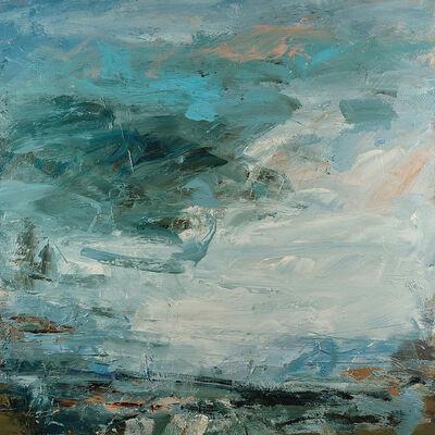 Louise Balaam, 'Slanting light at Zennor', 2019