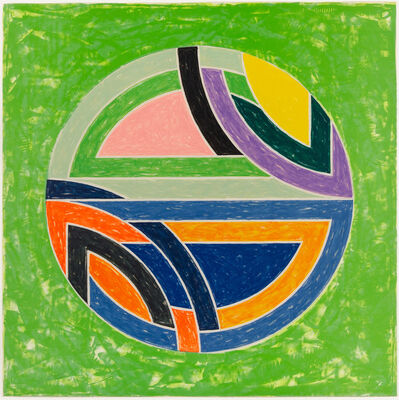 Frank Stella, 'Sinjerli Variation Squared with Colored Ground II', 1981