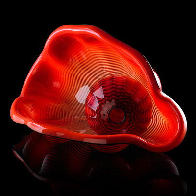 Dale Chihuly, 'Two-piece Red Seaform, Seattle, WA', 1995