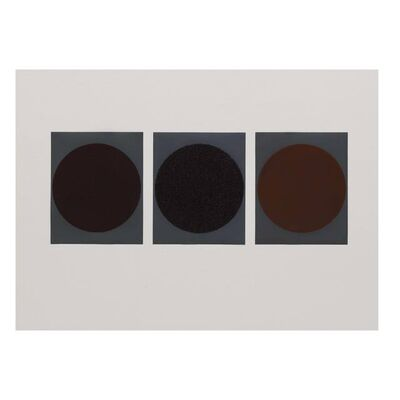 Haegue Yang, 'Triptych Moons –  Coffee, Tea and Cacao', 2013