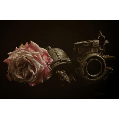 Patsy Whiting, 'Rose and Carburettor', 2012