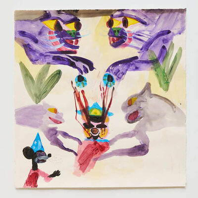 Joe Roberts, 'Untitled on paper (II) ', 2015