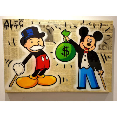 Alec Monopoly, 'Mickey Monopoly Body Switch ', 2019