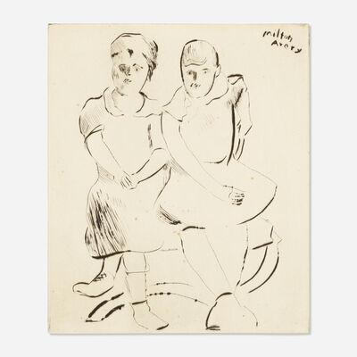 Milton Avery, 'Helen and Lily', 1941