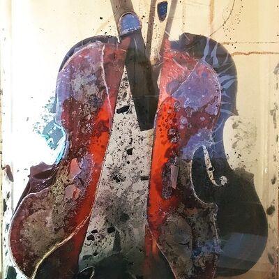 """Arman, '""""Colère de Paganini"""" by Arman', 2004"""