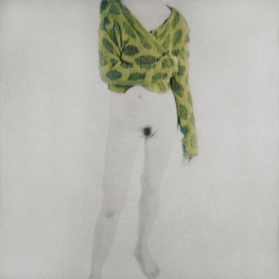 Mira Loew, 'Female Figure with Green Blouse (Lime Leaves)', 2014