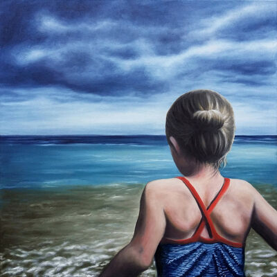 Nele Ouwens, 'Beatrice And The Sea', 2017