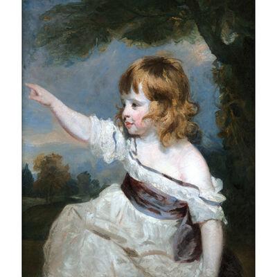 Joshua Reynolds, 'Portrait of Master Hare', 1788-1789