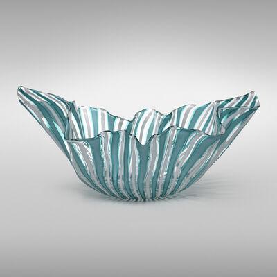 Fulvio Bianconi, 'Fazzoletto vase, model 4240', 1948