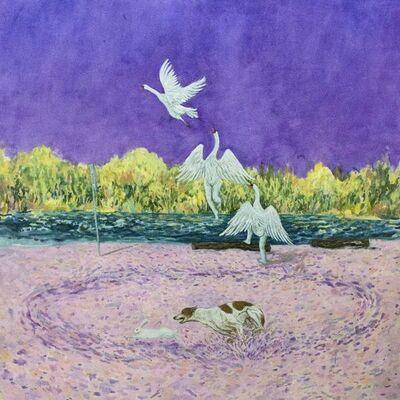 Michelle Nguyen, 'Predation (Circumnavigating Peach Beach)', 2020