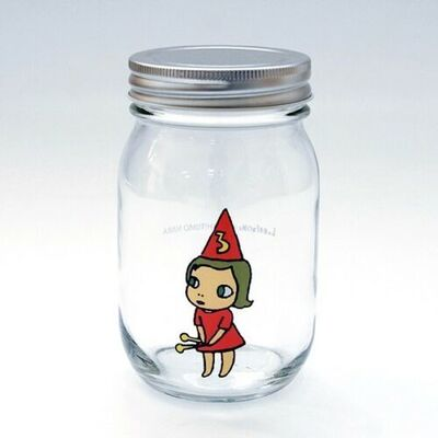 Yoshitomo Nara, 'Girl Storage Jar (450ml, Red)', ca. 2017