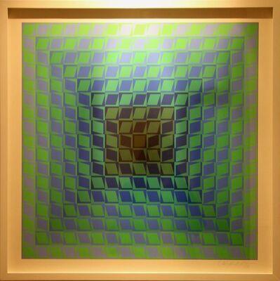 Victor Vasarely, 'IX Pos', 1968