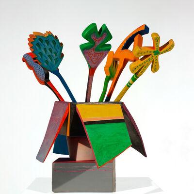 Ida Kohlmeyer, 'Untitled (Basket of Flowers)'