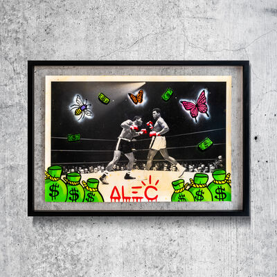 Alec Monopoly, 'Ali Boxing BW 8 ', 2020