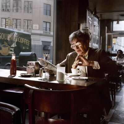 Janet Delaney, 'Coffee and a Sandwich, 1985', 2020