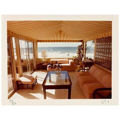 David Hockney, 'Malibu Interior', 1974