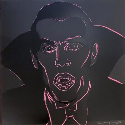 Andy Warhol, 'Myths: Dracula, II.264', 1981