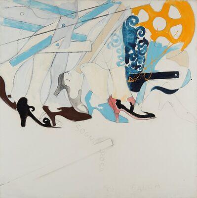 Mario Schifano, 'Sogno rosa per Balla (Sogno rosa a la Balla)', 1965